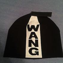 Alexander Wang for h&m Black and White Jacquard-Knit Hat Unisex (Bnwt) Photo