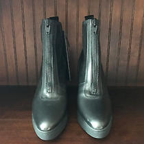 Alexander Wang  h&m  Leather Boot Zip Front Eu 38  Us 7 Photo
