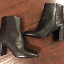 Alexander Wang Hana Black Leather Ankle Boot Size 39 650 Photo