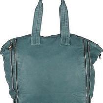 Alexander Wang Leather Zipper Trimmed Trudy Tote Handbag Photo