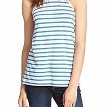 Alexander Wang New White Blue Women Medium M Tank Stripe Cami Top 120 Deal 026 Photo