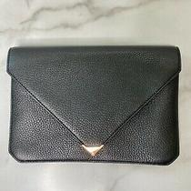 Alexander Wang Prisma Envelope Clutch With Rose Gold Details Photo