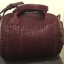 Alexander Wang Rockie Beet Leather Antique Brass Photo