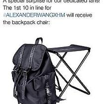 Alexander Wang X h&m Backpack Chair Brand New Not Even Open Message for 225 Photo