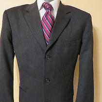 Alfani for Macy's Navy Sport Coat Size 40r Photo