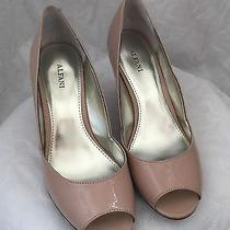 Alfani Women's Kendol Synthetic Peep-Toe Wedge Pumps Blush Size 9 Photo