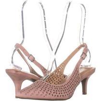 Alfani Womens Babbsy3 Pointed Toe Special Occasion Slingback Blush Size  Zyvp Photo