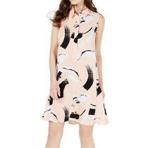 Alfani Womens Dress Classic Light Blush Pink Size 16 Shift Flared Hem 89 473 Photo