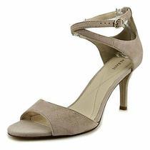 Alfani Womens Ginnii Leather Open Toe Casual Ankle Strap Blush Size 6.0 Yoyz Photo