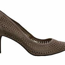 Alfani Womens Jeules Leather Pointed Toe Classic Pumps Blush Perf Size 12.0 Photo