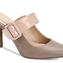 Alfani Womens Sewell Leather Pointed Toe Classic Pumps Taupe Blush Size 7 Photo