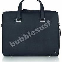 Alfred Dunhill Limited Edition Bourdon Navy Briefcase. Not Louis Vuitton Gucci  Photo