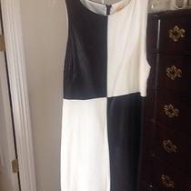 Alice and Olivia Black and White Dress Photo