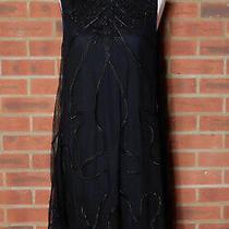 Alice by Temperley Black Woven Braid Dress Uk 10 Photo