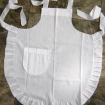 Alice in Wonderland Fancy Dress Apron With Pocket Made to Fit Ages 0-8 Years Photo
