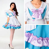 Alice in Wonderland Fantasy Maid Service Studio Shot Lolita Dress Princess Dress Photo