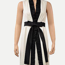 Alice  Olivia Black and White Bow Dress. Size Xs. 450 Originally Photo