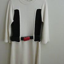 Alice  Olivia Color Block Sweater Dress Medium Photo