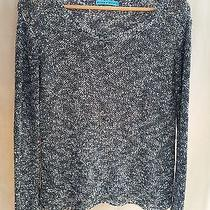 Alice  Olivia  Knit Gray Long Sleeve Boat Neck Sweater Sz Small S (582) Photo
