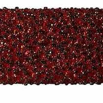Alice  Olivia Large Beaded Clutch With Crystals in Red Nwt Photo