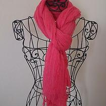 Alice  Olivia Solid Pink Scarf Photo