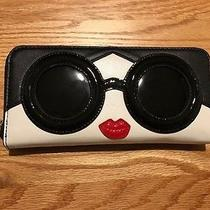 Alice  Olivia Stace Face Zip Wallet Popsugar Must Have X Neiman Marcus Photo