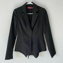 Alice  Olivia to Work Black Blazer Size Xs Photo