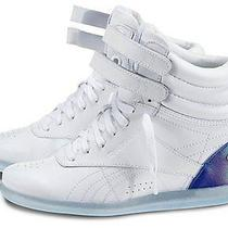 Alicia Keys X Reebok Freestyle Hi Wedge Sneaker - White/blue Ice Women's Size 8 Photo