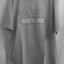 All City Hustling Varsity Glow in the Dark T-Shirt Nike Flight One Air Force 180 Photo