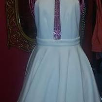 All White Bebe Dress Photo