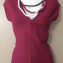 Allen B. Top With Necklace Size Small Photo