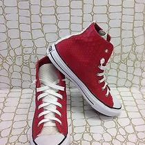 Allstar Converse Python Light Red &  Ivory  Sneaker Custom Made Size 8 Women's Photo