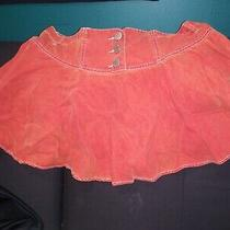 Alluring Vintage Armani Exchange Rust Skirt Size 12 Photo