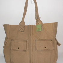 Alternative Apparel Eco-Friendly Organic Cotton Canvas Smokey Mountain Tote Nwt Photo