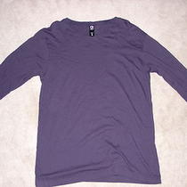 Alternative Apparel Navy Basic Crew Longsleeve Shirt Large American Apparel Photo
