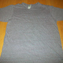Alternative Earth Ladies Top - Brown Heather - Size M - Poly Bl. - Very Nice (D) Photo