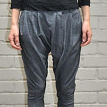 Alternative Limited Addition Grey Harem Drop Crotch Pants S Photo