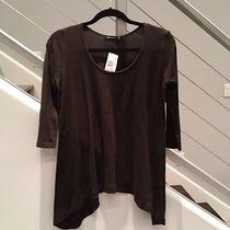 Alternative Trapeze Hi-Lo Hem Tunic Top Shirt Blouse Swim Small Twilight Inc Photo