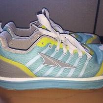 Altra Live to Run Zero Drop Aqua Blue & Yellow Women Size 9 Running Shoes Photo