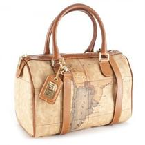 Alviero Martini 1a Classe Geo Classic Little Lady's Handbag N804 New Collection Photo