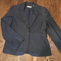 Amanda Smith Womens Blazer Jacket Excellent Condition Gray Color Photo