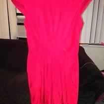 Amanda Uprichard Stella Red Dress  Size  P Photo