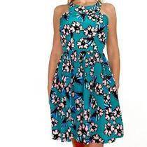 Amanda Uprichard Women's Elle Dress in Green Floral Print - Size Xs Photo