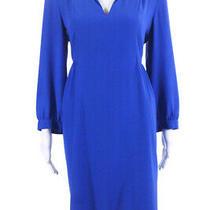 Amanda Uprichard Women's Liberty Maternity Dress Cobalt Size Large 10767918 Photo