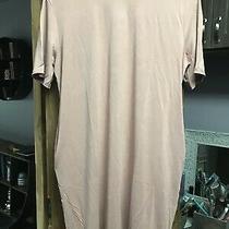 Amaryllis Blush 100% Cotton Dress Medium New Photo