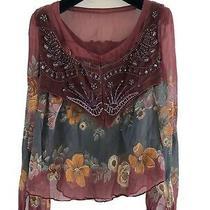 Amazing Antik Batik 2peace Set Silk Blouse and Corset Net a Porter Photo