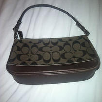 Amazing Brown Authentic Coach Purse Las Vegas Store Baguette Photo