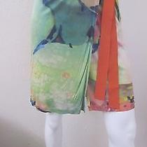 Amazing Philosophy Di Alberta Ferretti Made in Italy Wrap & Tie Skirt Size 4 Photo