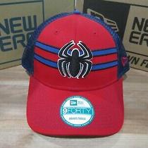 Amazing Spider-Man Peter Parker Marvel New Era 9forty Adjustable Hat New  Box8 Photo