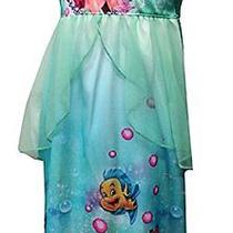 Ame Sleepwear Girls 2-6x Disney Little Mermaid Ariel Fantasy Photo